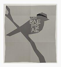HYYH pt.2 x Saul Bass - Baepsae Photographic Print