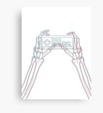 3D gaming 1st gen Canvas Print