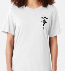 Full Metal Alchemist - Flamel Symbol Slim Fit T-Shirt