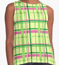 Plaid and Peppy Contrast Tank