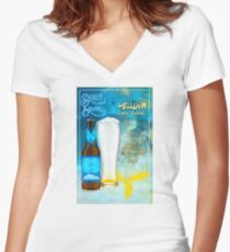 THE CHUCK SPECIAL Women's Fitted V-Neck T-Shirt