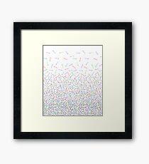 It's Raining Lightsabers Framed Print