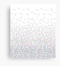 It's Raining Lightsabers Canvas Print