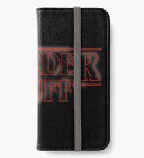 Weirder Stuff iPhone Wallet/Case/Skin