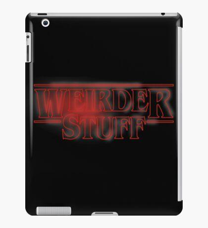 Weirder Stuff iPad Case/Skin