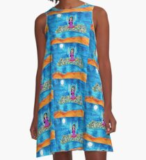 Missy's Magical Flying carpet A-Line Dress