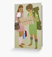 Sam + Suzy Greeting Card