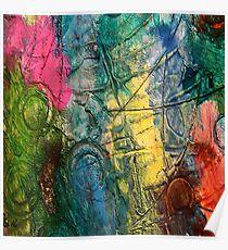 Mixed media 11 by rafi talby Poster