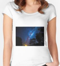 Which One To Wish Upon? Women's Fitted Scoop T-Shirt