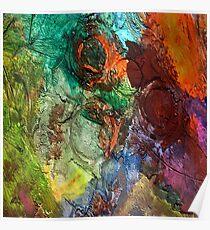 Mixed media 14 by rafi talby Poster