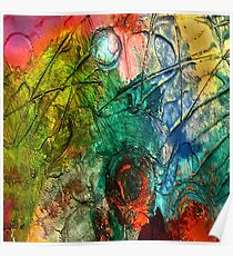 Mixed media 15 by rafi talby Poster