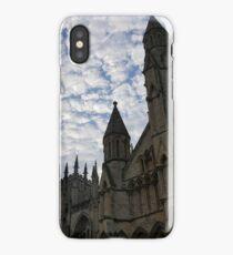 Sky over York Minster iPhone Case
