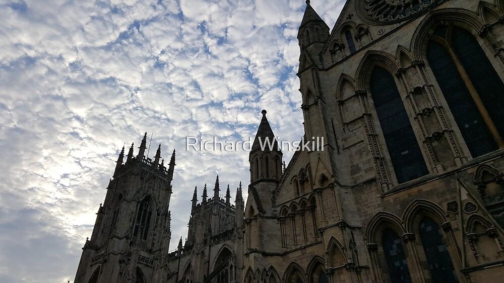 Sky over York Minster by Richard Winskill