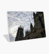 Sky over York Minster Laptop Skin