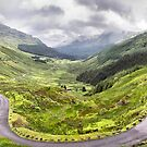 "Glen Croe from ""Rest and be thankful"", Scotland by Geoff Carpenter"