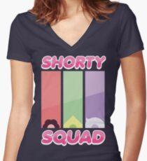Steven Universe Shorty Squad Shirt Women's Fitted V-Neck T-Shirt