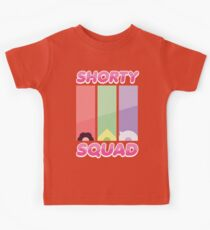 Steven Universe Shorty Squad Shirt Kids Clothes