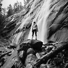 Back to the Camera - Bridal Veil Falls, Washington by Jason Heritage