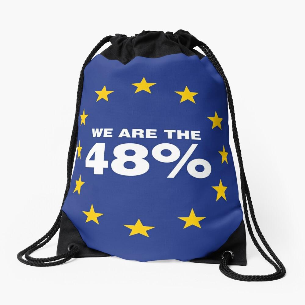 Brexit I Voted Remain Drawstring Bag