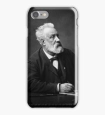 Jules Verne - Father of Science Fiction iPhone Case/Skin