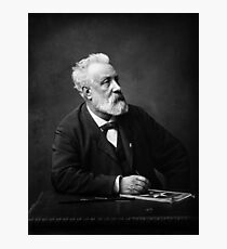 Jules Verne - Father of Science Fiction Photographic Print