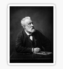 Jules Verne - Father of Science Fiction Sticker