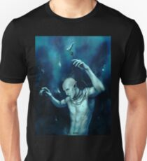 Oceans so deep, he will drown in his sleep Unisex T-Shirt