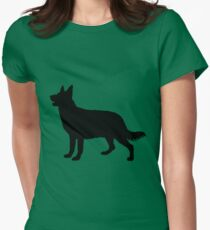 Hund, Dog, Chien, Perro, Cane, Hond Women's Fitted T-Shirt