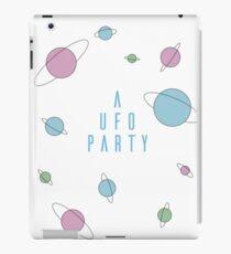 A UFO PARTY - X FILES iPad Case/Skin