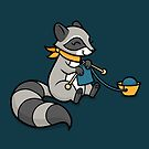 Knitty Raccoon by Diony  Rouse