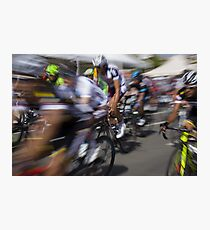 Bicycle race Photographic Print