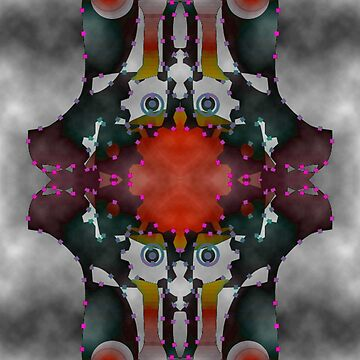 Turning Inward - Topsy Turvy, upside down Art by L. R. Emerson II by emersonl