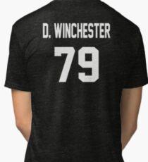 Supernatural Jersey (Dean Winchester) Tri-blend T-Shirt