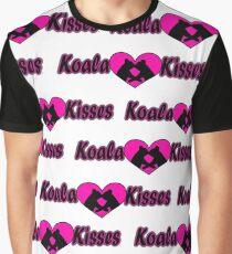 Koala Kisses #2 Pattern  Graphic T-Shirt