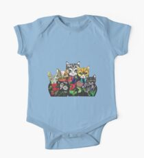 Cat Russian doll family One Piece - Short Sleeve