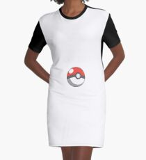 Pokemon Go Graphic T-Shirt Dress