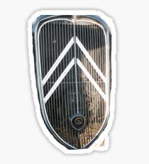 Classic Citroen Grid  Sticker