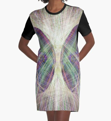 Linify Light butterfly Graphic T-Shirt Dress