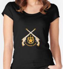 Wynonna Earp peacemaker Women's Fitted Scoop T-Shirt