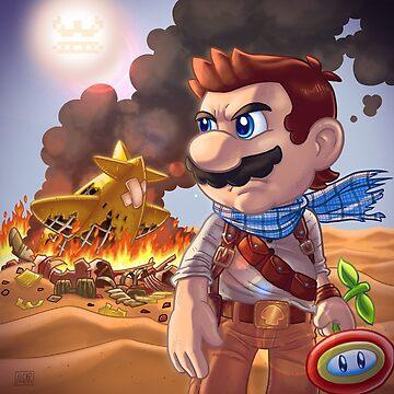 Mario X Uncharted 3 by jimalgar