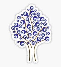 Evil Eye Tree Sticker