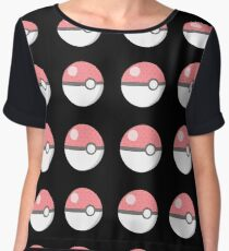 Pokeball cutie! Chiffon Top