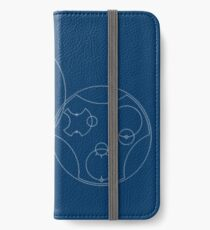 Trust me, I'm the Doctor | Circular Gallifreyan iPhone Wallet/Case/Skin