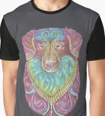 Duck Toller Totem Graphic T-Shirt