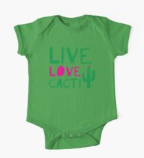 LIVE LOVE CACTI One Piece - Short Sleeve