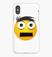 Emoji  Face with Tape iPhone Case/Skin