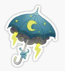umbrella stars Sticker