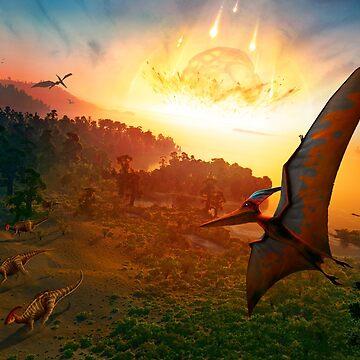 Pteranodon - Deadly Impact by magarlick