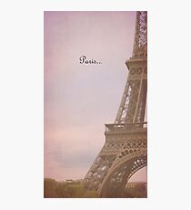 Paris ...  Photographic Print