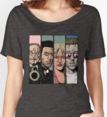 Preacher :Arseface, Jesse, Tulip and Cassidy Women's Relaxed Fit T-Shirt